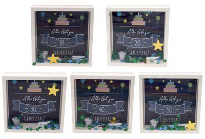 Geldgeschenk Verpackung Geburtstag 18 20 30 40 50 Happy Birthday Geburtstagsgeschenk Party
