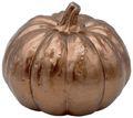 Deko Figur Kürbis Metallic Herbstdeko Herbst Tischdeko Keramik 13cm Mittel 5