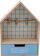 Deko Haus Aufbewahrung Holz Holzhaus Bilderrahmen Kinderzimmer Regal 7