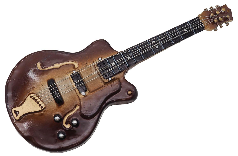 Christbaumschmuck Weihnachtsbaumschmuck Weihnachtsdeko Bass Gitarre Glas Geschenk Weihnachten