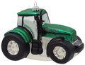 Christbaumschmuck Weihnachtsbaumschmuck Weihnachtsdeko Traktor Trecker Grün Glas Geschenk Männer Deko Weihnachten 1