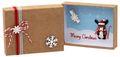 Geldgeschenk Verpackung Weihnachten XMAS Rentier Elch Zuckerstange Rot Natur Geschenk Gutschein 2