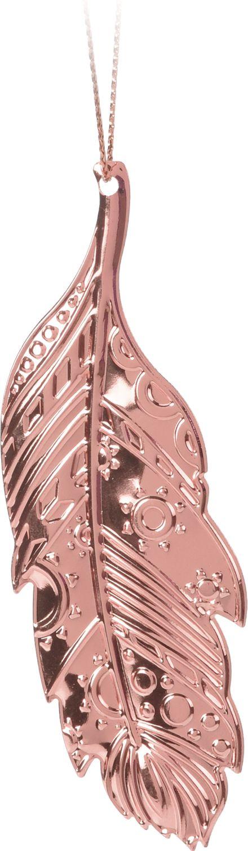 Metall Blatt Anhänger Rosegold Deko Herbst Weihnachten Weihnachtsdeko Basteln 8 Stück