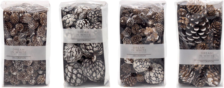 Zapfen MIX Naturzapfen Früchte Streudeko Naturdeko Kasuarinen Atafrucht Kiefernzapfen Tischdeko Basteln Weihnachten Adventskranz