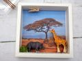 Geldgeschenk Verpackung Afrika Safari Giraffe Nashorn Urlaub Reise Gutschein Geschenk Abenteuerurlaub 8