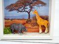 Geldgeschenk Verpackung Afrika Safari Giraffe Nashorn Urlaub Reise Gutschein Geschenk Abenteuerurlaub 3
