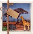 Geldgeschenk Verpackung Afrika Safari Giraffe Nashorn Urlaub Reise Gutschein Geschenk Abenteuerurlaub 1