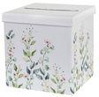Briefbox Kartenbox Hochzeit Eukalyptus Greenery Trauung Blüten Blumen Weiß  1