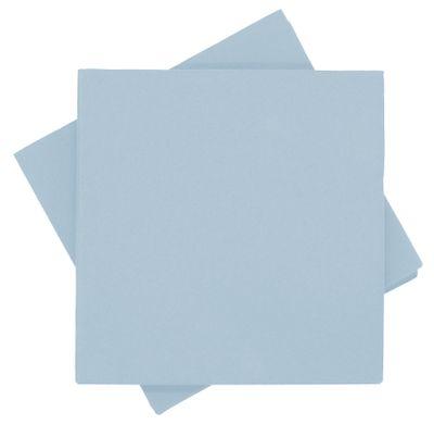 Servietten Tischdeko Blau Hellblau Papierservietten 40 x 40 cm Party Deko Taufe 25 Stück