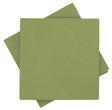 Servietten Tischdeko Grün Oliv Papierservietten 40 x 40 cm Partydeko Hochzeit Kommunion Konfirmation 25 Stück  1