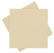 Servietten Tischdeko Creme Kommunion Konfirmation Sommer Party 40x40 cm 25 Stück 1