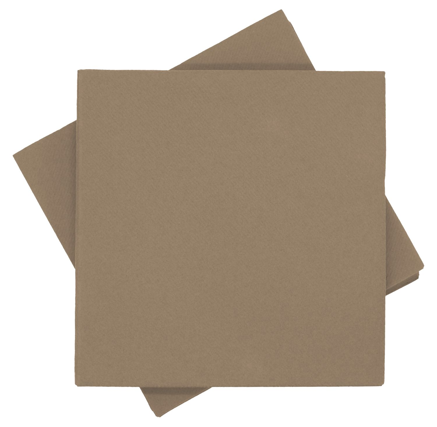 Servietten Tischdeko Taupe Kommunion Konfirmation Sommer Party 40x40 cm 25 Stück