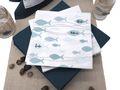 Servietten Fisch Mint Grün Glaube Liebe Hoffnung Tischdeko Kommunion Konfirmation 20 Stück 2
