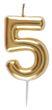 Geburtstag Kerze Geburtstagskerze Tortendeko Zahlen Gold 0 1 2 3 4 5 6 7 8 9 Deko 8