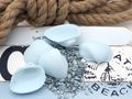 Muscheln Deko Muscheln Arca Arca Schalen Streudeko Maritime Deko Basteln Blau 20 Stück 2