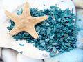 Muscheln Granulat Tischdeko Streudeko Türkis Blau Maritime Deko Muschelgranulat Kommunion Konfirmation Hochzeit 500g 4