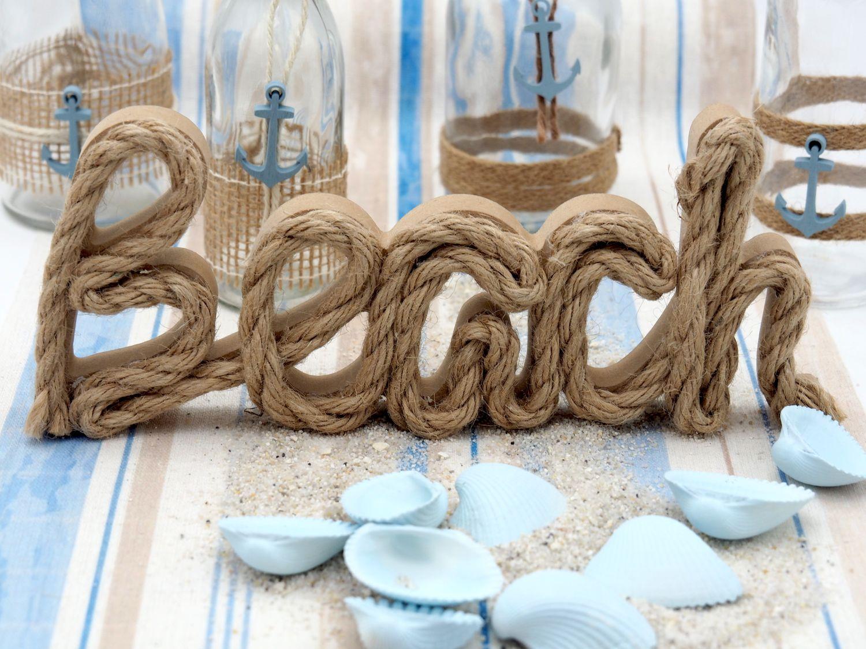 Tischdeko Maritime Deko Hellblau Sand Beach Meer Sommer Partydeko Geburtstag Mottoparty