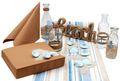 Tischdeko Maritime Deko Hellblau Sand Beach Meer Sommer Partydeko Geburtstag Mottoparty 1