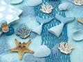 Kindergeburtstag Tischdeko Meerjungfrau Blau Mädchen Party Deko Geburtstag 20 Personen SET 4