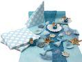 Kindergeburtstag Tischdeko Meerjungfrau Blau Mädchen Party Deko Geburtstag 20 Personen SET 1