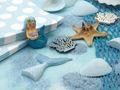 Kindergeburtstag Tischdeko Meerjungfrau Blau Mädchen Party Deko Geburtstag 20 Personen SET 6