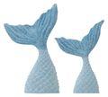 Tischdeko Kindergeburtstag Meerjungfrau Flosse Blau Motto Party Mädchen 6 Stück Nixe Meerjungfrauenflossen 2