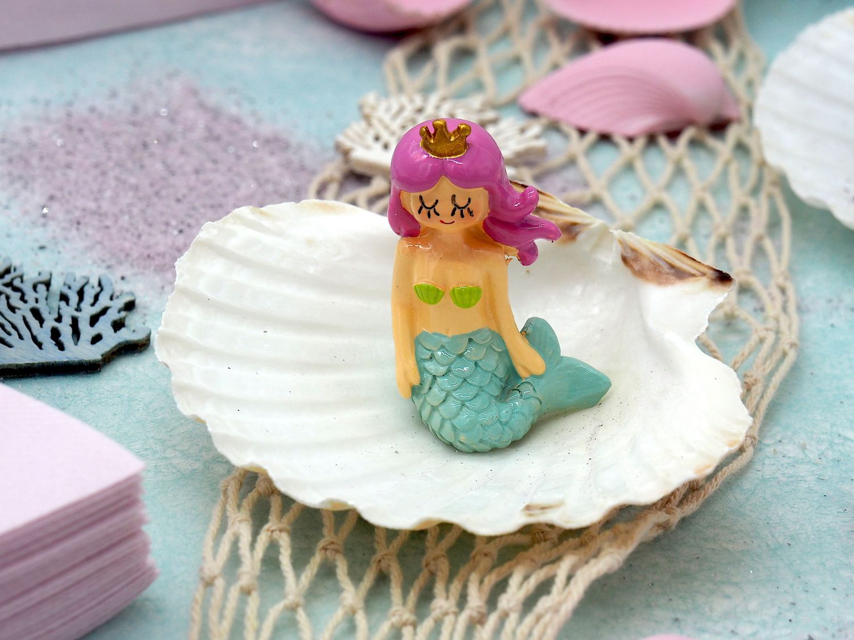 Kindergeburtstag Tischdeko Meerjungfrau Rosa Mint Mädchen Party Deko Geburtstag 20 Personen SET Nixe