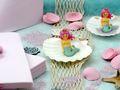 Kindergeburtstag Tischdeko Meerjungfrau Rosa Mint Mädchen Party Deko Geburtstag 20 Personen SET Nixe 4
