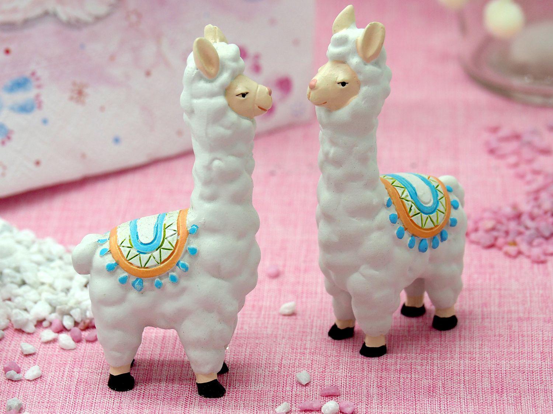 Tischdeko Kindergeburtstag Motto Lama Party Geburtstag Rosa Pink Deko SET