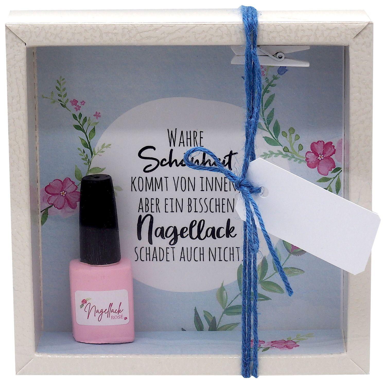 Geldgeschenk Verpackung Nagelstudio Nagellack Frau Gutschein Maniküre Geburtstag Weihnachten
