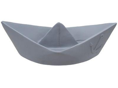 Deko Figur Papierboot Grau Boot Maritim Tischdeko