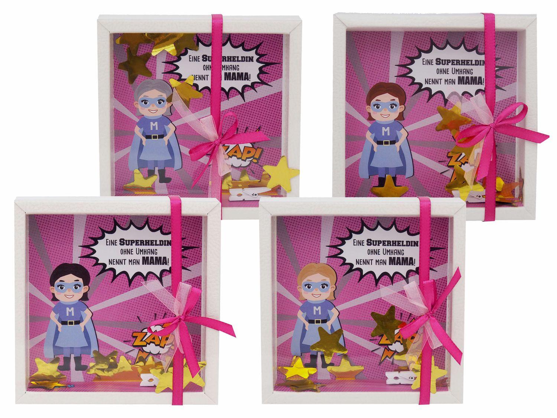 Geldgeschenk Verpackung Mama Superheld Muttertag Geschenk Geburtstag