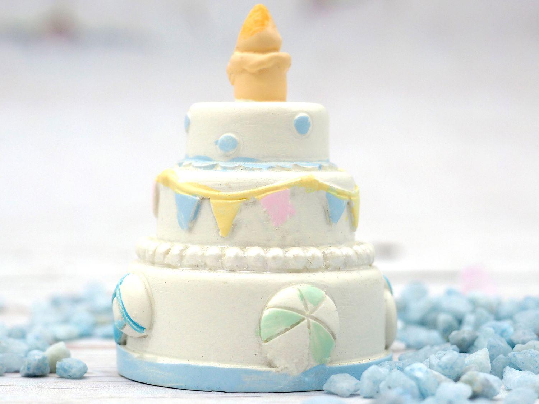 Deko Figur Tortendeko Tortenfigur Baby Junge Blau Deko Tischdeko Taufe Geburt