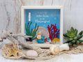 Geldgeschenk Verpackung Meerjungfrau Nixe Geburtstag Kindergeburtstag 6