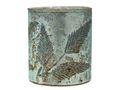 Windlicht Kerzenhalter Teelichthalter Mint Blätter Glas Advent Deko Weihnachten Herbst 2