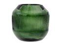 Kerzenhalter Teelichthalter Glas Grün Teelichtglas Advent Weihnachten Tischdeko Deko Ø 9x9 cm  2