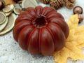 Kerze Kürbis Orange Braun Herbstdeko Herbst Deko Tischdeko Halloween Thanksgiving  4