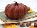 Kerze Kürbis Orange Braun Herbstdeko Herbst Deko Tischdeko Halloween Thanksgiving  3