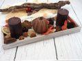 Tablett Herbst Herbstdeko Tischdeko Deko Kerze Kürbis Braun Holz Natur 5