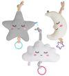 Spieluhr Einschlafhilfe Baby Babyerstausstattung Plüsch Stern Mond Wolke Spielzeug Kleinkind Geschenk Geburt  1