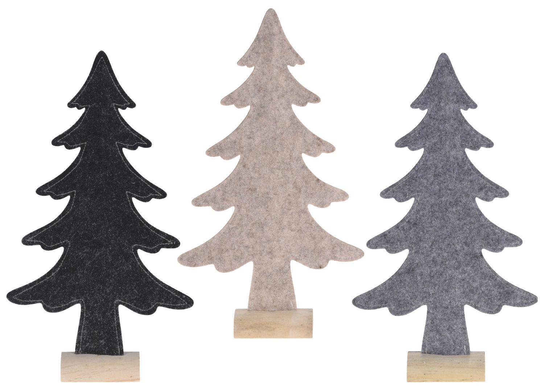 Weihnachtsbaum Filz Holz Tannenbaum Weihnachtsdekoration Deko