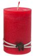 4 Adventskerzen Kerzen Stumpenkerzen Adventskranz Rot Creme Elch Weihnachten Advent Deko Tischdeko   2