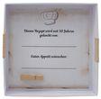 Geldgeschenk Verpackung Goldene Hochzeit Geschenk Rezept für 50 Jahre Ehe Goldhochzeit 4