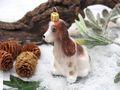 Weihnachtsbaumschmuck Christbaumschmuck Glas Hund Cocker Spaniel Braun Weihnachtsdeko Weihnachten 6