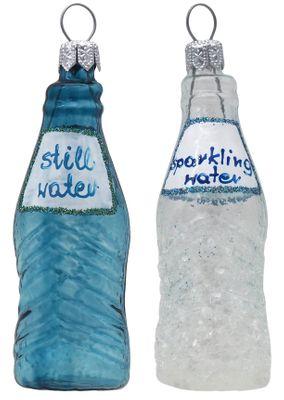 Weihnachtsbaumschmuck Christbaumschmuck Wasser Mineralwasser Wasserflasche Sprudelwasser Weihnachtsdeko Weihnachten