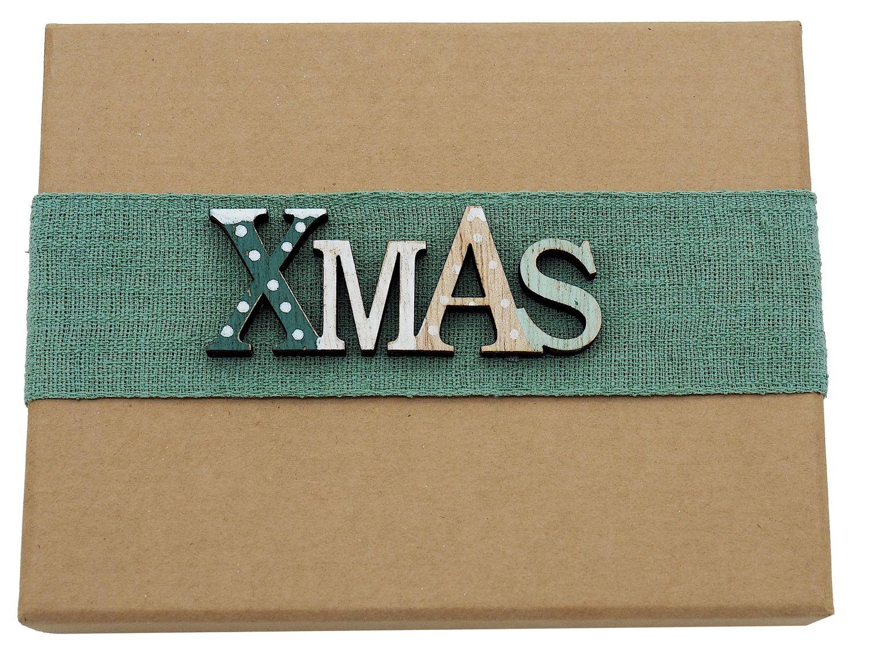 Geldgeschenk Verpackung Weihnachten XMAS Salbei Hirsch Tanne Weihnachtsgeschenk Gutschein