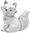 Deko Figur Weihnachtsdeko Winter Tiere Weiß Eichhörnchen Eule Fuchs Igel Weihnachten 10