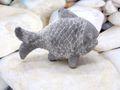 Fisch Grau Hellgrau Zement Beton Stein Stehend Tischdeko Maritim Deko 4