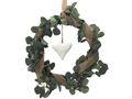 Eukalyptus Kranz Künstlich Türdeko Frühling Sommer Grün Herz Weiß Hochzeit Kommunion Konfirmation Deko 1