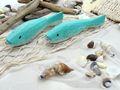 Tischdeko Maritim Streudeko MIX Sand Treibholz Muscheln Netz Fische Zehentrenner Türkis gestreift Deko 650g 5